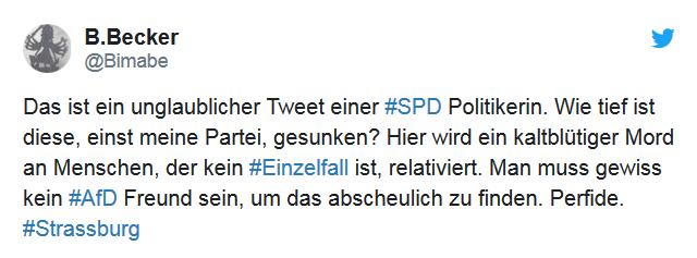 Geschmacklos_ Aydan Özoğuz (SPD) instrumentalisiert Opfer von Straßburg für Kamp_2018-12-12_14-40-11