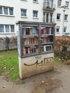 Bücherschrank am Lessingplatz