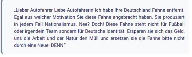 2020-02-04 08_59_51-Fahne am Auto_ Du bist Förderer von Nationalismus!